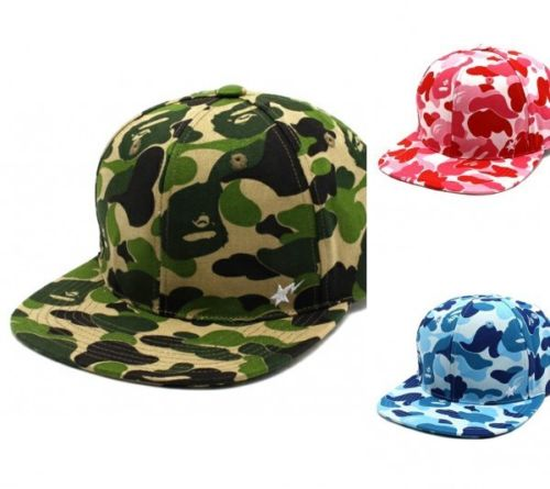 Bape ABC CAMO SNAP BACK CAP HAT a bathing Ape Snapback Green ... 529372c99b4